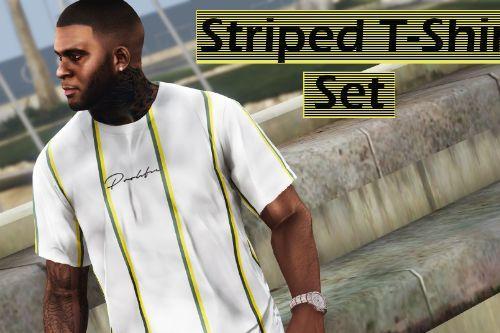 Striped T-Shirt Set