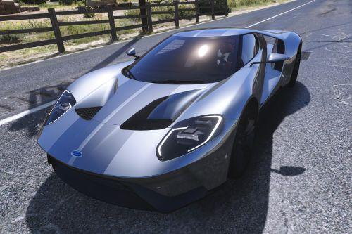 Stripes Paintjob for [YCA] Game68240's 2017 Ford GT