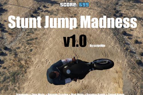 Stunt Jump Madness [.NET] - GTAV Supercross mod
