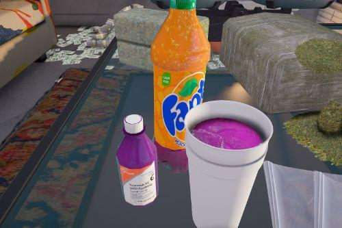 Styrofoam Double Cup with Lean