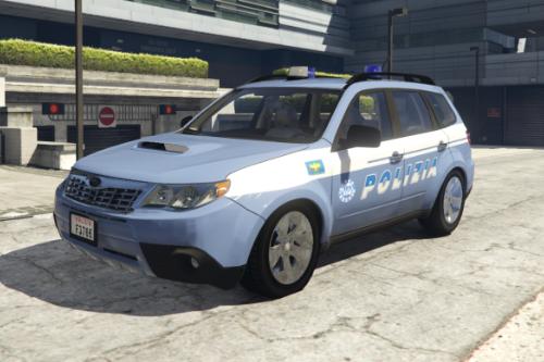 Subaru Forester 2009 POLIZIA - Reparto Prevenzione Crimine