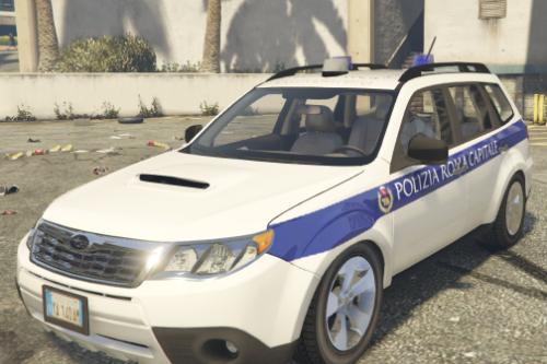 Subaru forester Polizia Roma Capitale (Polizia Locale)