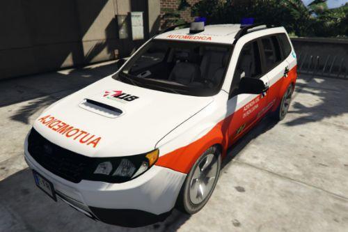 Subaru Forester Soccorso Sanitario 118 - Azienda USL | Emilia Romagna | Reskin [ELS]