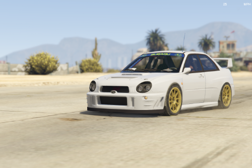 Subaru Impreza Rally 2001 [Add-On | Extras | Liveries | LODs]