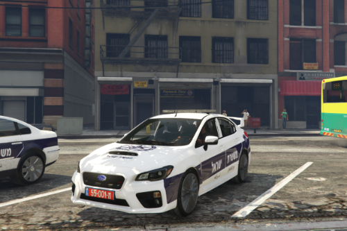 Subaru Impreza | רכב ספורט משטרתי  - sport police israel