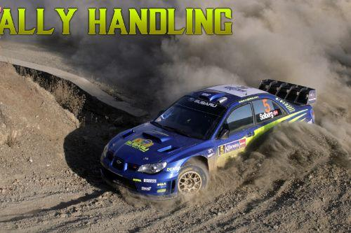 Subaru Rally Car Handling