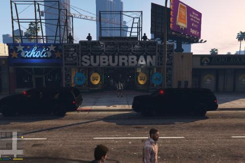 SubUrban Guard by FIB [Menyoo]