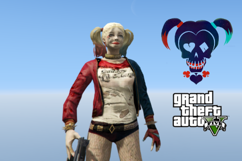 Suicide Squad Harley Quinn [Add-On Ped]