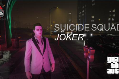 Suicide Squad Joker (Clean) for GTA V | Skin Control