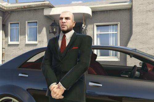Suited Johnny Klebitz