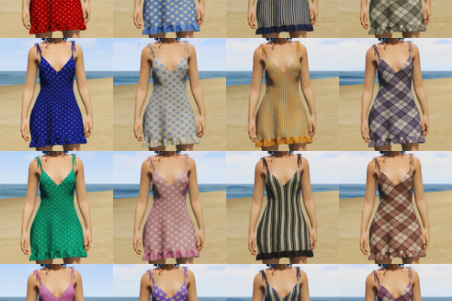 Summer Dress Textures for MP Female