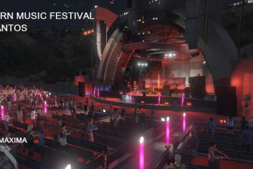 Sunburn Music Festival Los Santos [Menyoo]