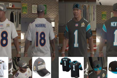 Super Bowl 50 shirts and caps for Franklin