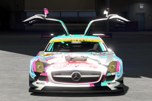 Mercedes Benz SLS AMG GT3 [Add-On | Replace | Livery | Template]