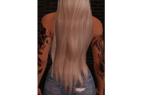 Super Long Hair For mp_female