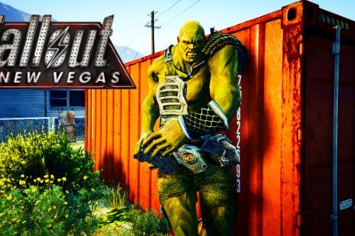 Super Mutant Fallout New Vegas [Add-On Ped]