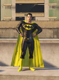 SuperBatman [Add-On Ped]