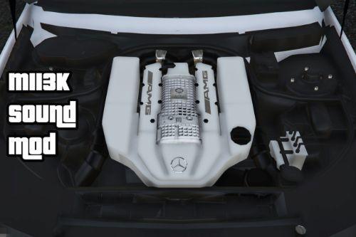 Mercedes-AMG Supercharged V8 Kompressor (M113k) Sound Mod