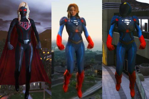 CW Super-girl (Multiverse Armor update)