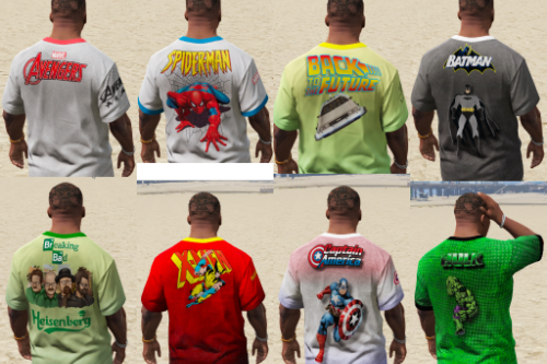 Superheroes T-shirts & more.