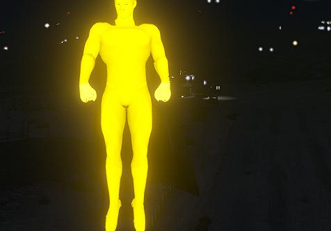 Superman 1million Glowing suit [RETEXTURE]