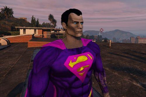 Superman BvS Injustice 2 - Retexture  - BizArRo