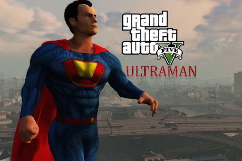 Superman BvS Injustice 2 - Retexture - ULTRAMAN