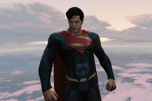 Superman (DC Unchained) W/Cloth Physics