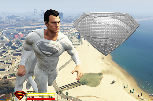 SuperMan God White Suit [Retexture]