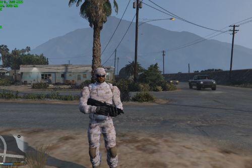 Supersoldier Marine
