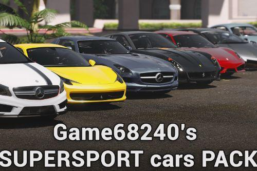 Supersport cars Pack by SCRAT
