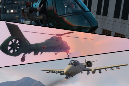Air Support: Strafe Run, Chopper Gunner & More