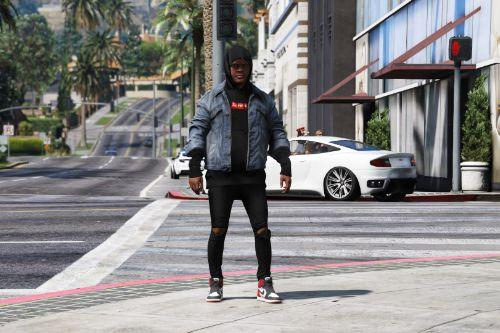 Gta 5 black skinny jeans