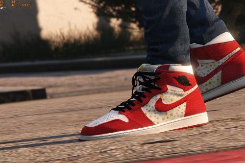 Supreme Jordan 1s