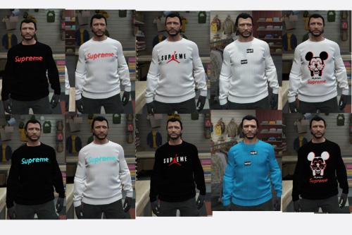 Supreme Sweatshirt Pack