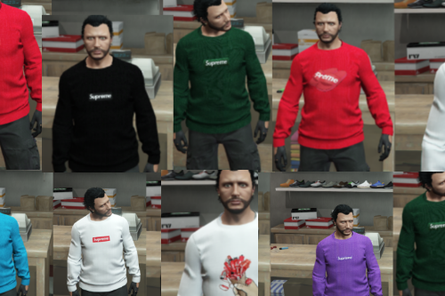Supreme Sweatshirts Pack
