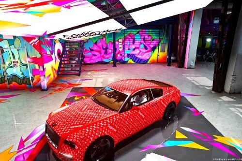 Supreme x LV Livery for Enus Windsor (Rolls Royce Wraith)