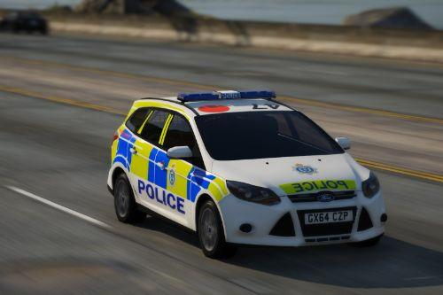 Sussex Police 2014 Ford Focus Estate IRV