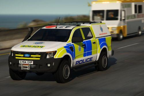Sussex Police 2014 Ford Ranger IRV