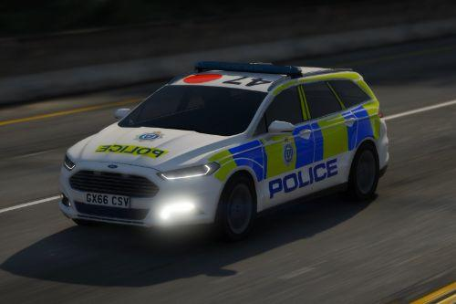 Sussex Police 2016 Ford Mondeo Estate IRV