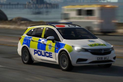 Sussex Police 2018 Vauxhall Astra Estate IRV
