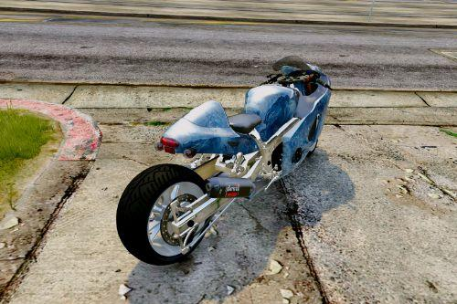 Suzuki Hyabusa Drag Bike Addon & Replace