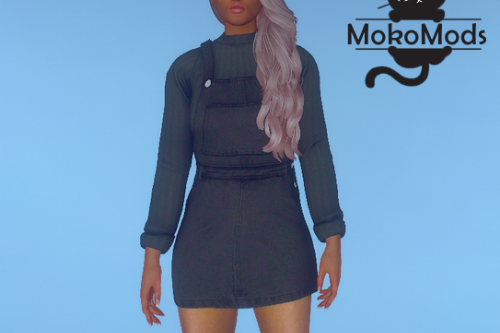 Sweater Overall Dress for MP Female