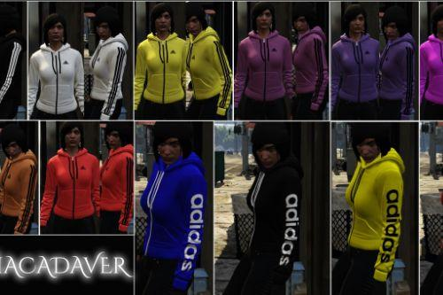 Sweatshirt Texture Adidas Pack for Female MP Character