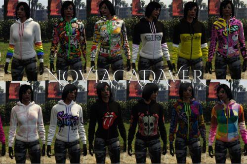 Sweatshirt Texture Pack for Female MP Character