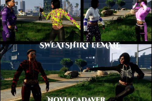 Sweatshirt Top for MP Female