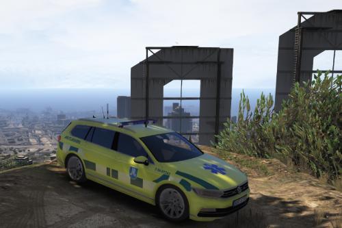 Swedish Ambulance | Akutbil | Volkswagen Passat R-Line