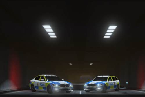 BMW 520i Sedan And Tourer | Swedish Police