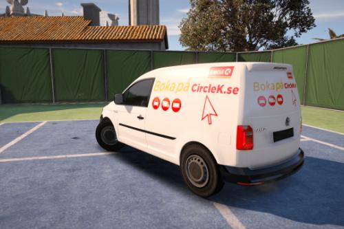 Swedish CircleK Car