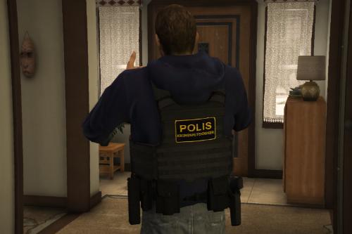 Swedish Kriminaltekniker / Civil Police Ped